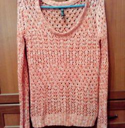 Jacheta mare de tricotat