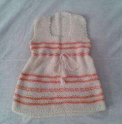 Dress-sundress new Bulgaria 98-104 cm. Bargaining