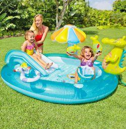 Inflatable center Crocodile