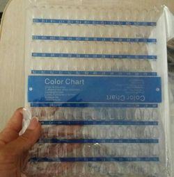 Lacquer / gel palette