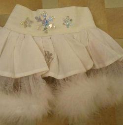 Costum de fulg de zăpadă 3-5 ani