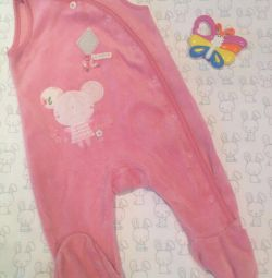 Overalls Mothercare 0-3 months.