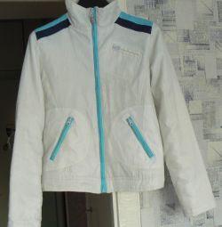 Jacheta pe un iernar subțire sintetic