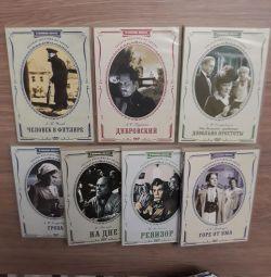 Σετ DVDs Ρωσική λογοτεχνία. Σχολικό πρόγραμμα