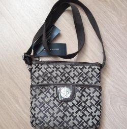 Tommy Hilfiger erkek çantası orijinal