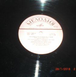 Пластинки 70 х годов