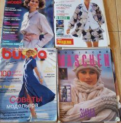 Burda Moden і журнали з в'язання