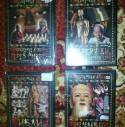 DVD Mistik Asya 4 adet
