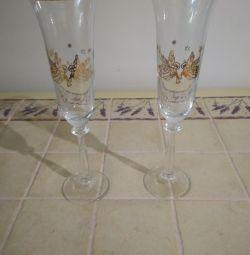 Γυαλιά, κρασιά, ποτήρια κρασιού.