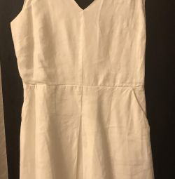 Linen dress Gap size L