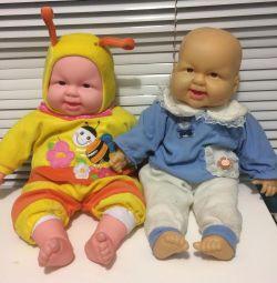 Κούκλες 50 cm γέλιο αστείο