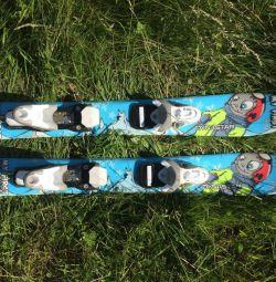 Лыжи детские 67 см