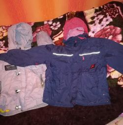 jackets for a boy 120-126cm.