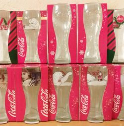 Glasses COCA-COLA, new