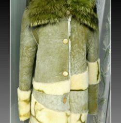 Γυναικείο παλτό προβάτου