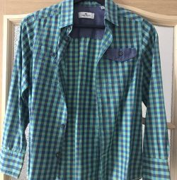 Shirt ta tailor pentru un băiat de 12-13 ani