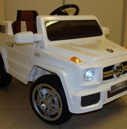 Children's electric car Mercedes G80 Shock absorbers