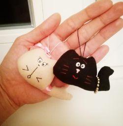 Anahtarlık yavru kedi