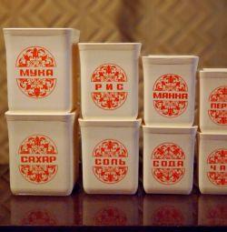 Наборы СССР для сыпучих продуктов