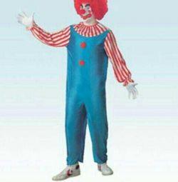 Costum de carnaval de clovn