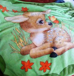 Pătură din fleece pentru copii