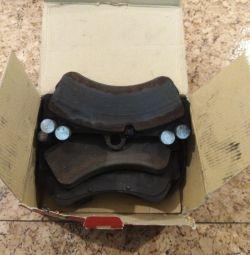 Front brake pads for Tuareg