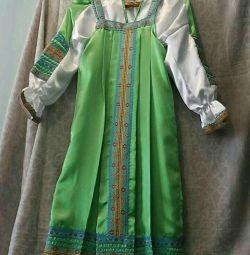 Performans için elbise, 134-152