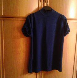 Bluză elegantă, tricotată