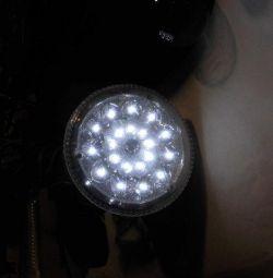 Лампа светодиодная с пультом DP Led-1734