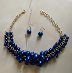 Beads and earrings new