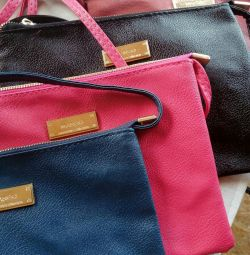 Handbags in stock.