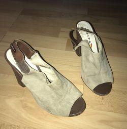 Sandale din piele autentică