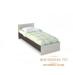 Basia Bed 0.8 LDSP (wenge / oak white) KR 554