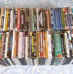 Discuri DVD, prețul întregului buchet (mai mult de 80 de bucăți)