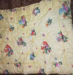 Quilt + pillow