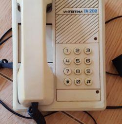 Раритет Мнтеграл телефон СССР