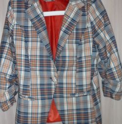 Checked jacket, p-44 (46)