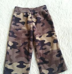 Pantalonii fleece ai lui Carter. 12 luni