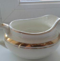 Boabe de soia sau smantana