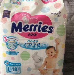 Diapers Merries