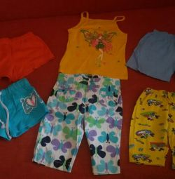 Summer clothes package, р.86-92