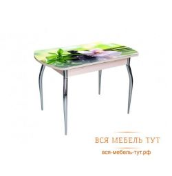 Table sliding Asti-Foto2 oak / glass No. 26