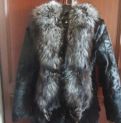 Γούνα, παλτό από γούνα κουνελιού.