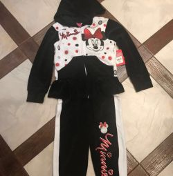 Sports suit Minnie Mouse