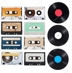 Casete audio și înregistrări de vinil