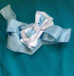 Bow tape on the statement