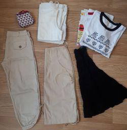 Пакет одежды для девушки