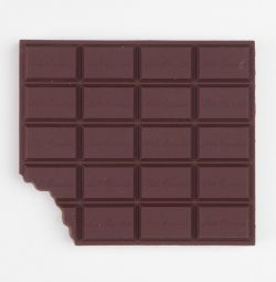 Gift notepad chocolate