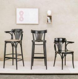 высокий барный стул венский