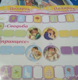 Настольная игра свадьба принцесс Диснея